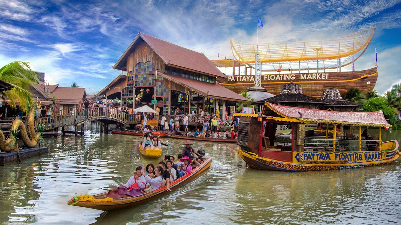 Chợ nổi Pattaya