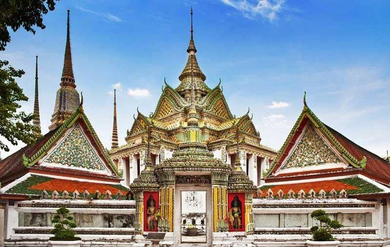 ngôi đền ở Phuket