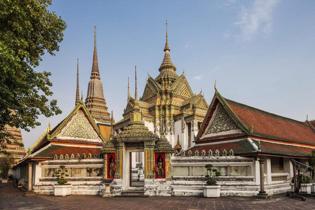 chùa kiến trúc đẹp ở Bangkok