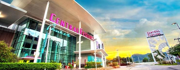trung tâm thương mại ở Phuket