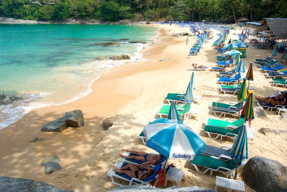 Bãi biển đẹp ở Phuket