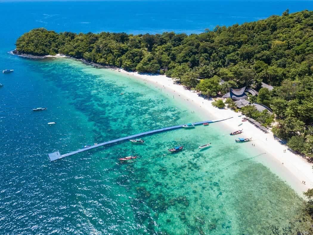đảo san hô Coral ở Pattaya