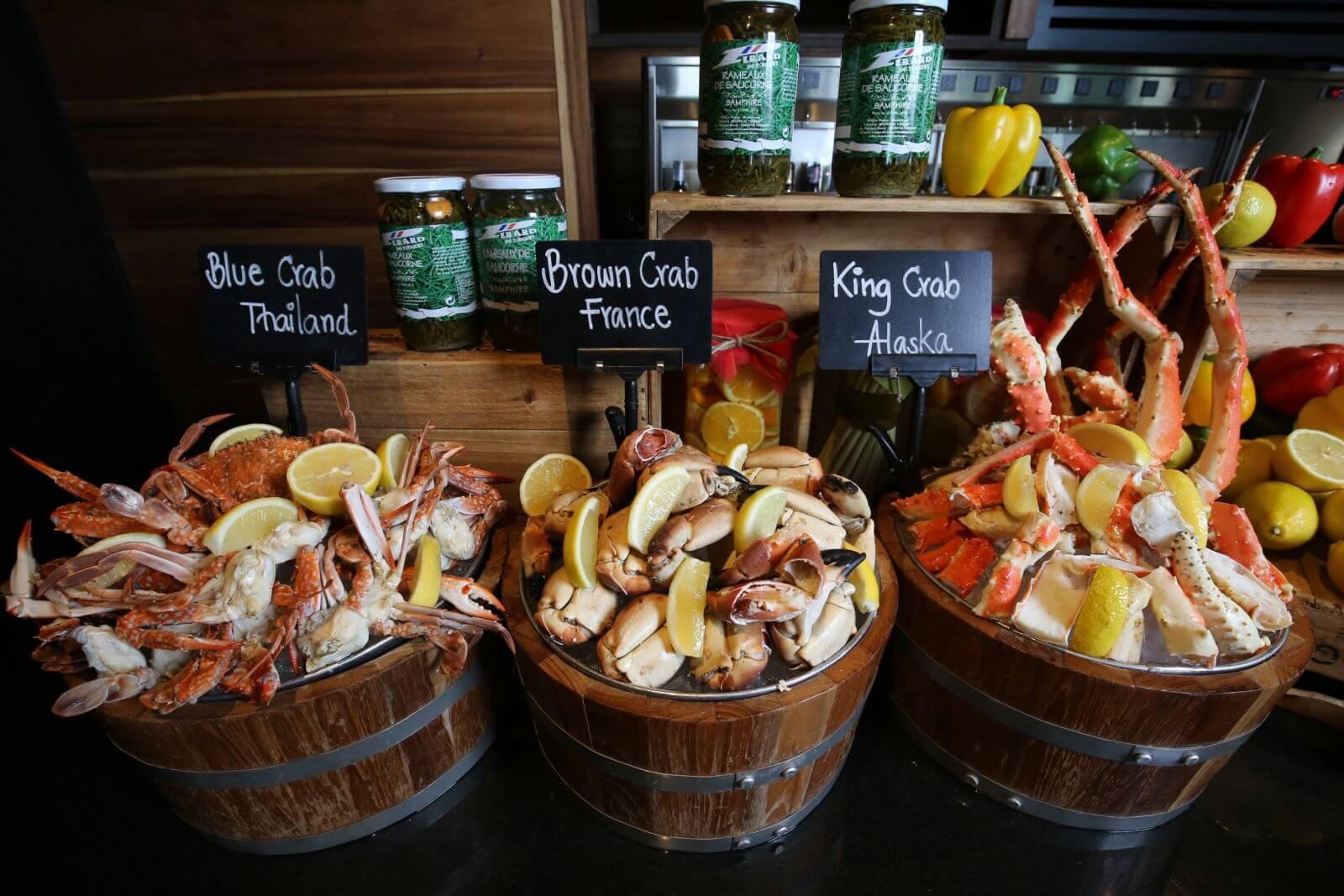 nhà hàng hải sản ở Bangkok