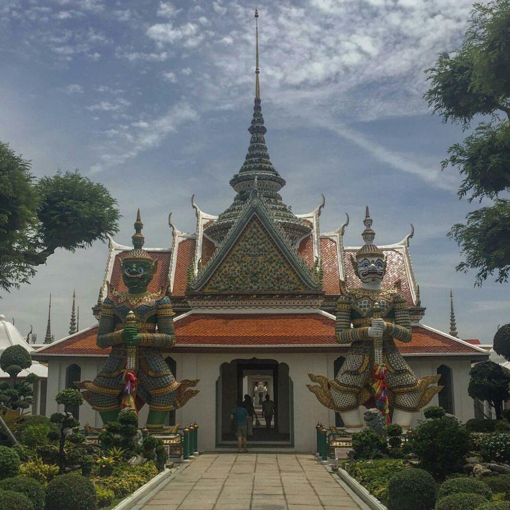 chùa kiến trúc đẹp Bạngkok