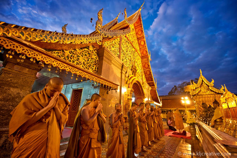Chùa Phrathat Doi Suthep ở Chiang Mai