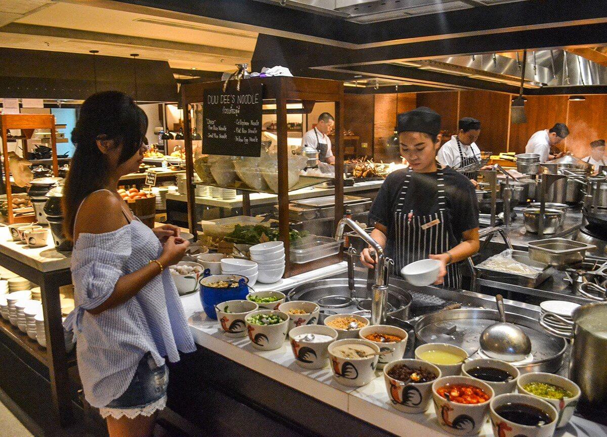các nhà hàng buffet ở bangkok