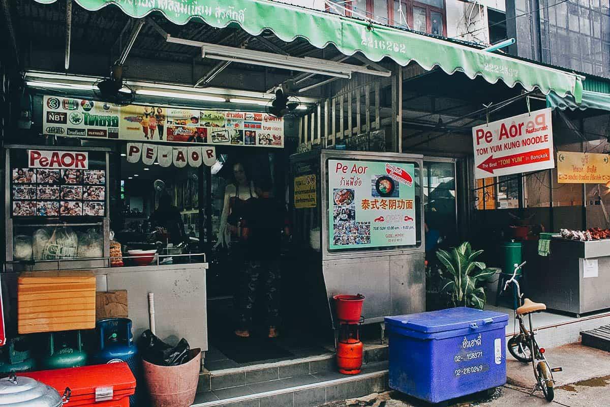 quán ăn đồ Thái ở Bangkok
