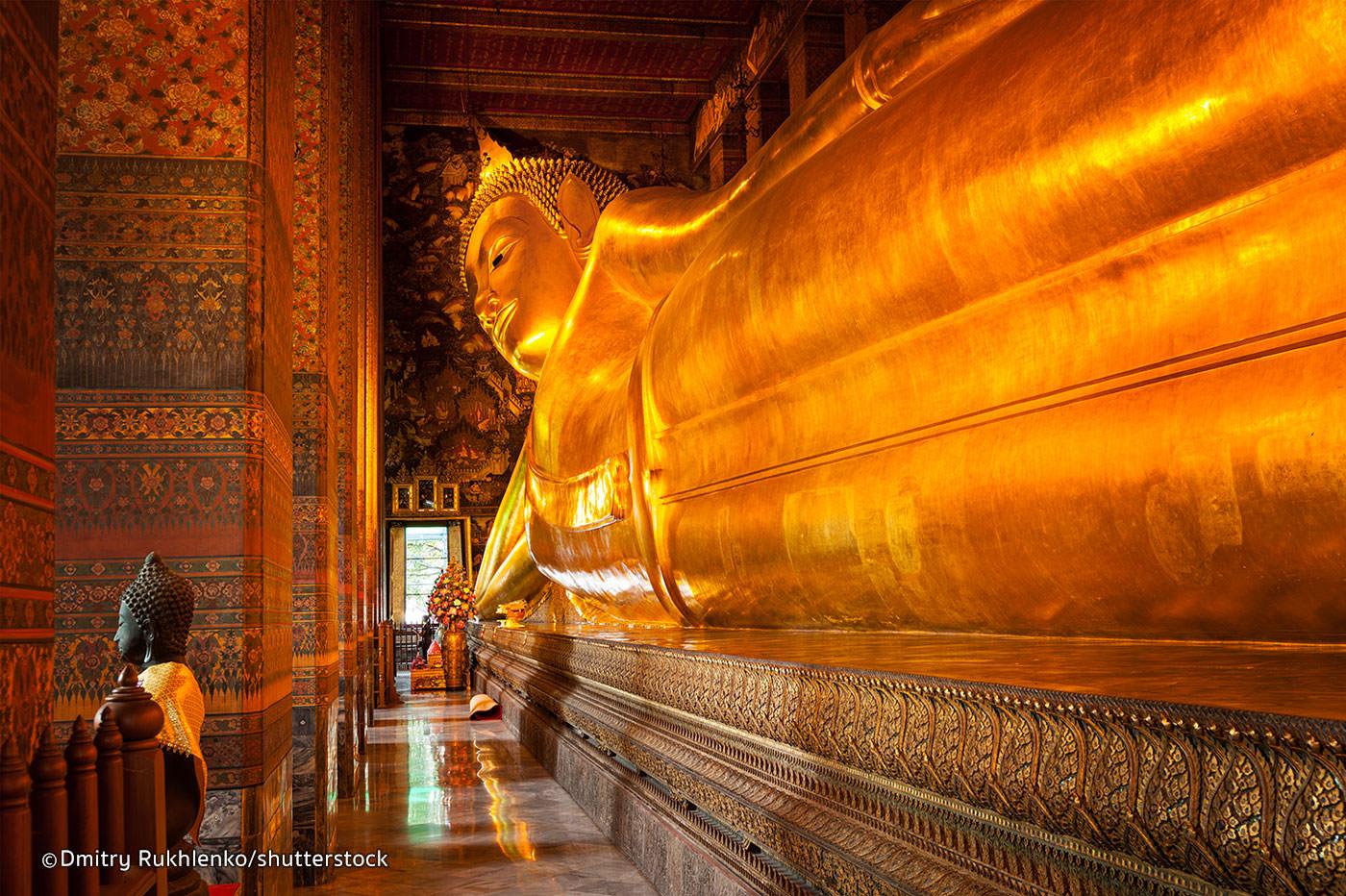chùa kiến trúc đẹp Bangkok